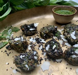 An image of Palak Methi Na Muthia by Sonya Devi